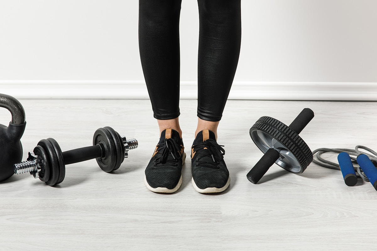 Thuis fitness set